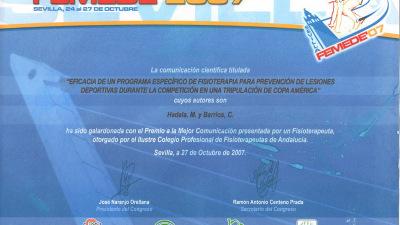 Premio-FEMEDE-2007
