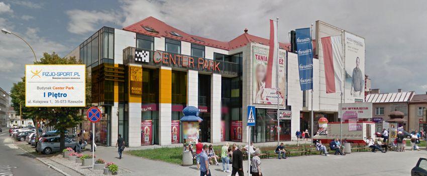 lokal center park fizjo-sport