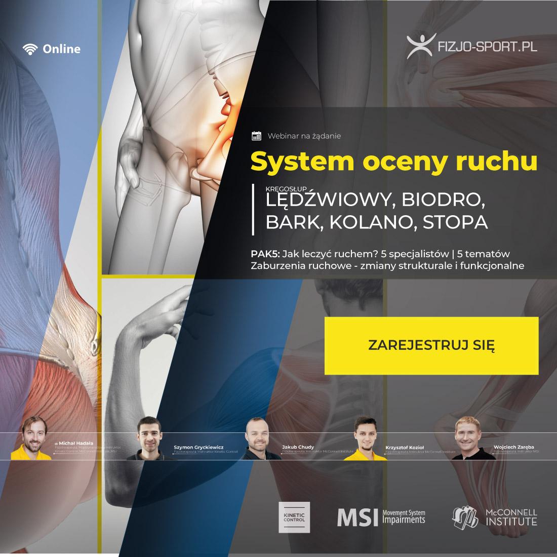 System oceny ruchu - fizjoterapia